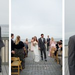 A marriage cermony at North Beach Club House.